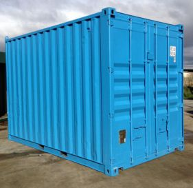 All vic container container painted
