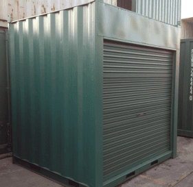 All vic container container container with door