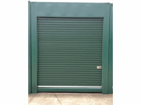 All vic container container shelter rollerdoor