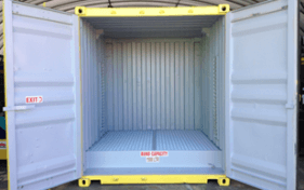 All vic container container new with doors