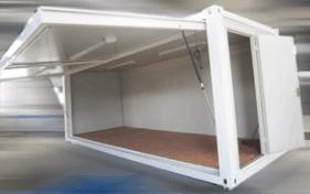 All vic container-lift door