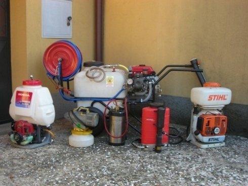 attrezzature per disinfestazione