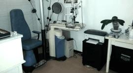 tavoli, apparecchiature oftalmiche