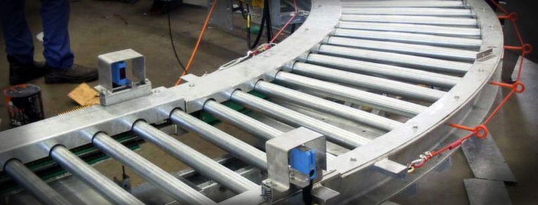 conveyor roller custom design