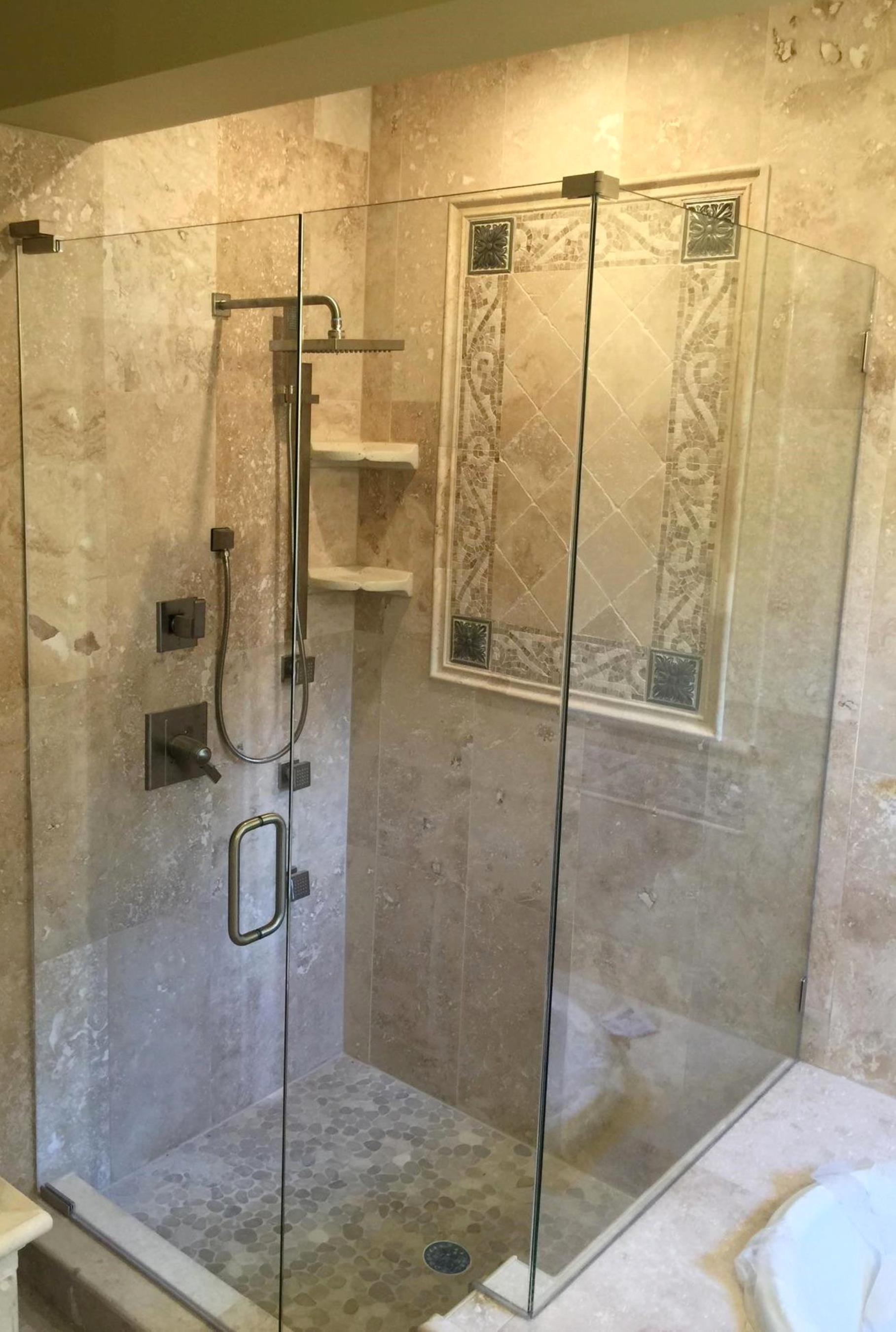 Glass Shower Enclosures Bathroom Baker Glass Jacksonville Fl Yulee Fl  Fernandina Beach Fl