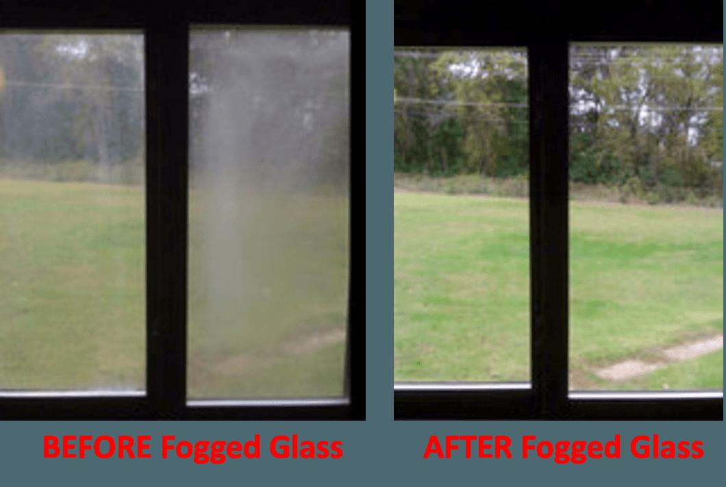 fogged glass replacement before and after baker glass inc jacksonville fl yulee fl fernandina beach fl