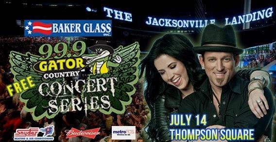 baker glass free summer concert series jacksonville fl