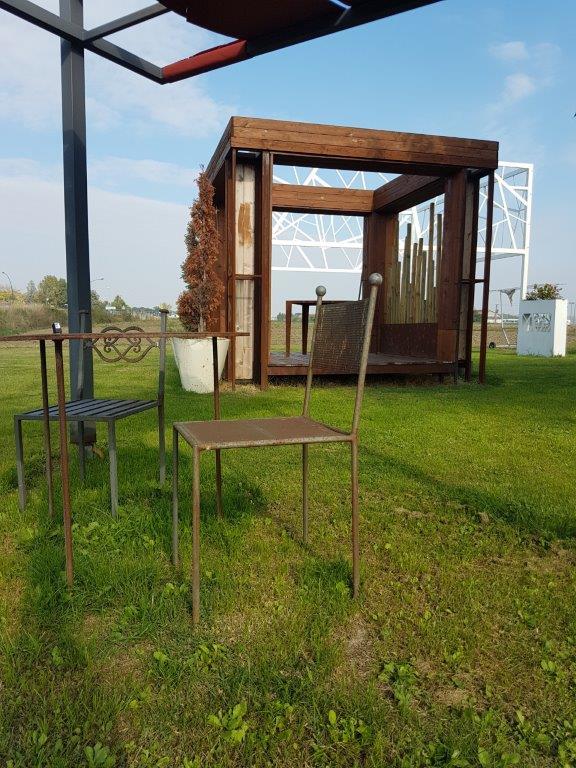 Arredamento in ferro cervia cma carpenteria metallica for Casa arredo matelica