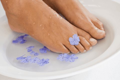 Aromatic footbath