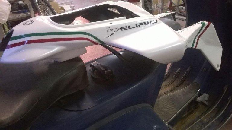 verniciatura carrozzeria moto