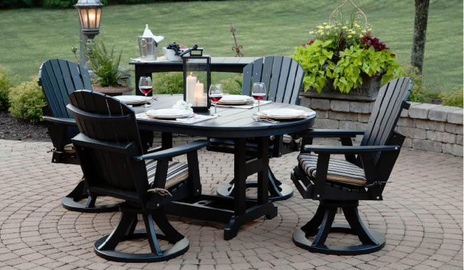 Outdoor Dining Bars Buffalo Lockport Ny Ohio Craft Furniture