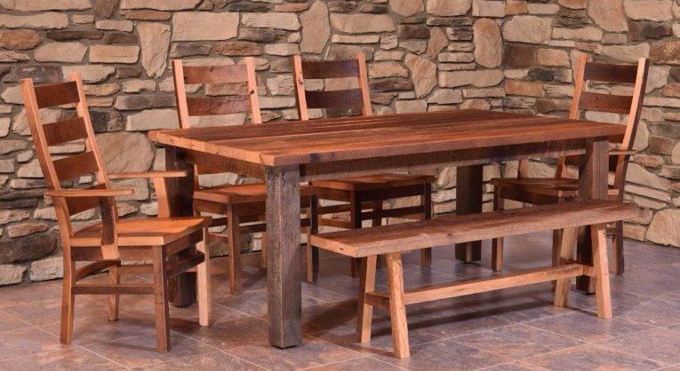 Barnwood Dining Tables   Buffalo U0026 Lockport, NY   Ohio Craft Furniture