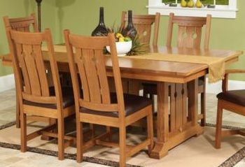 Handmade Wooden Mission Style Dining Room Tables   Buffalo U0026 Lockport, NY    Ohio Craft Part 68