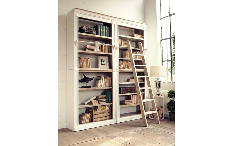 libreria con scala scorrevole