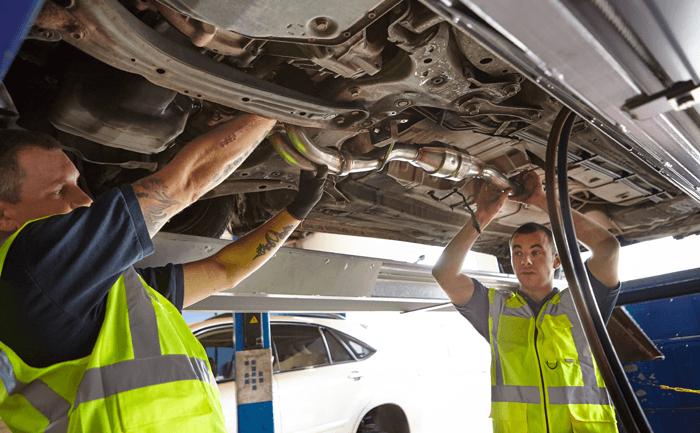 happy mechanic