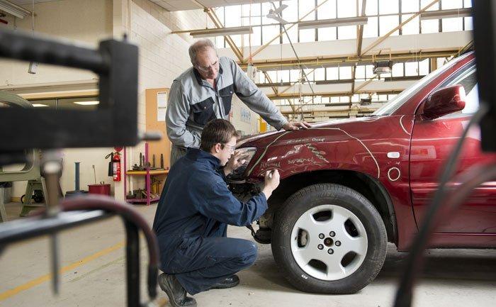 car dent repairs