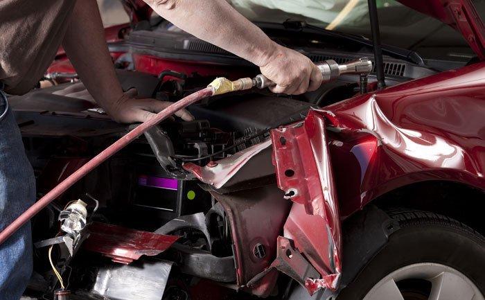 car damage repairs
