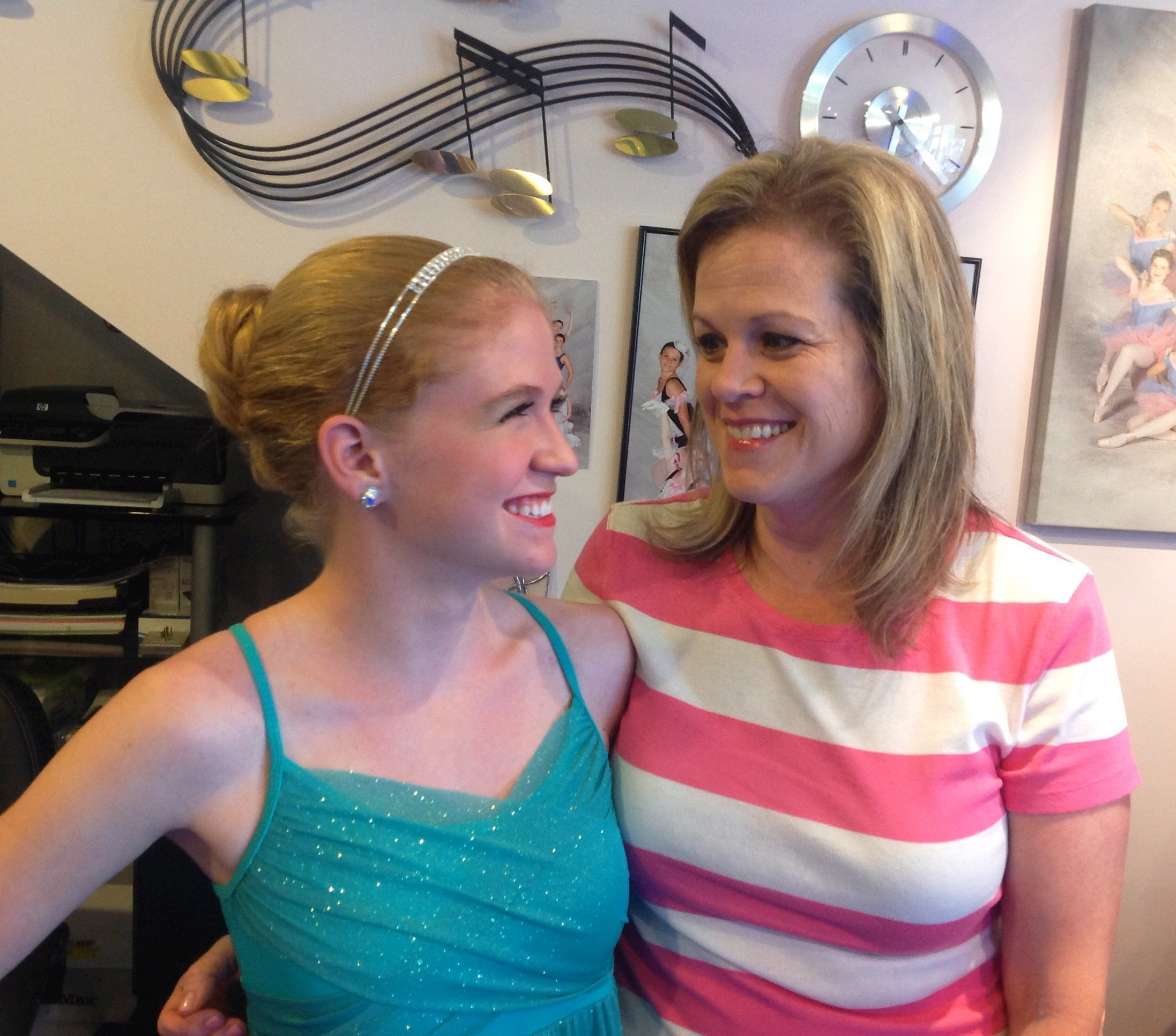 Performing Arts Dance Studio Student with Parent in Hamburg NY