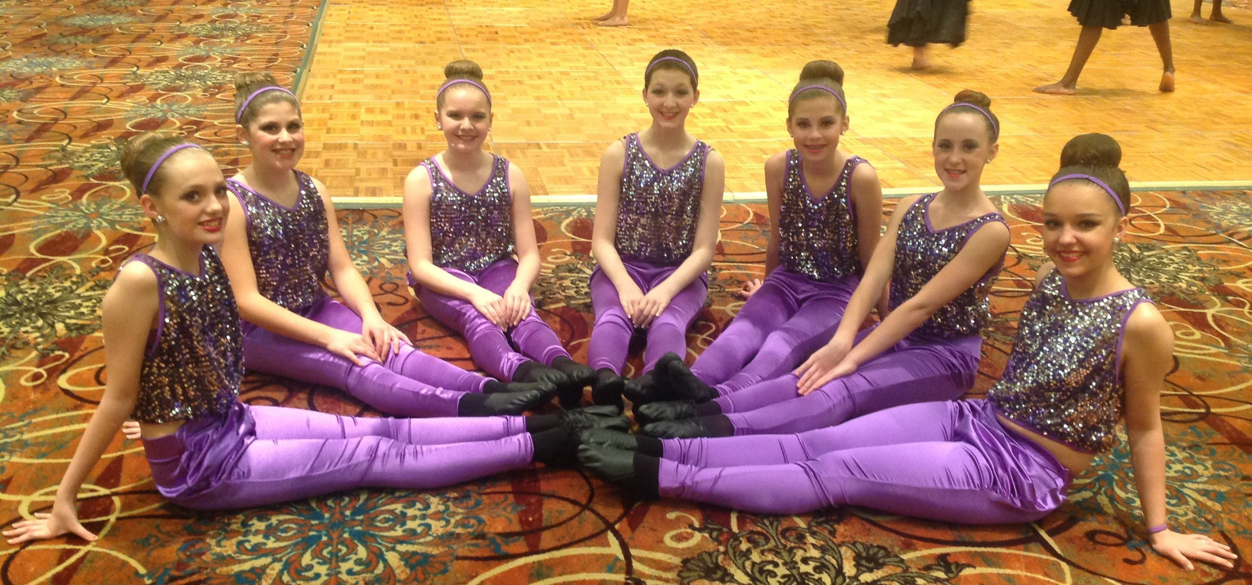 Students Dressed in Dance Clothing in Hamburg NY