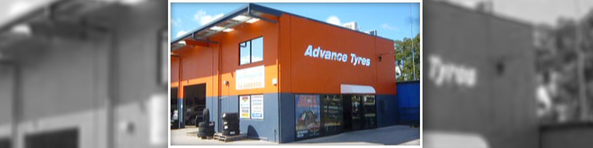 advance tyres shop side view