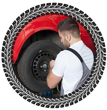 advance tyres changing the tyre