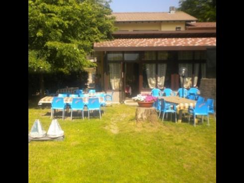 ristorante giardino esterno