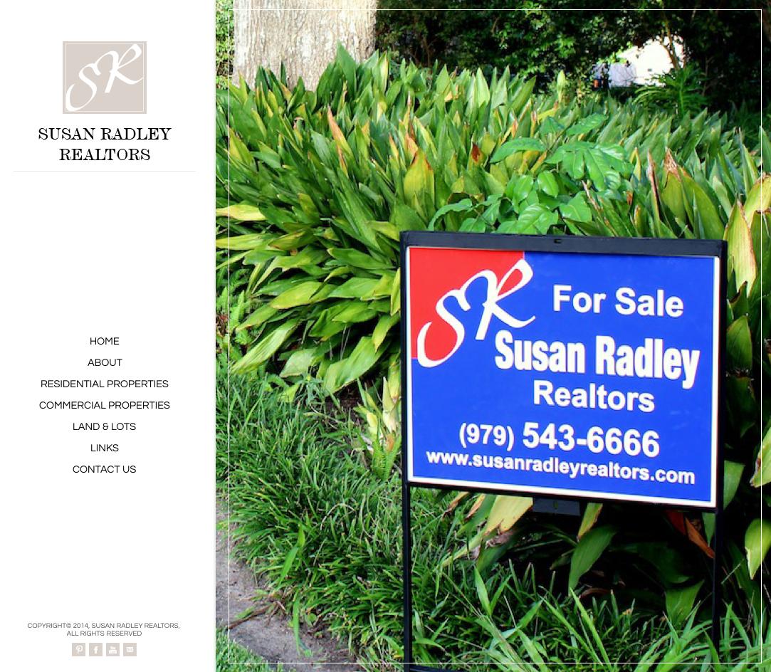 Susan Radley Realtors website