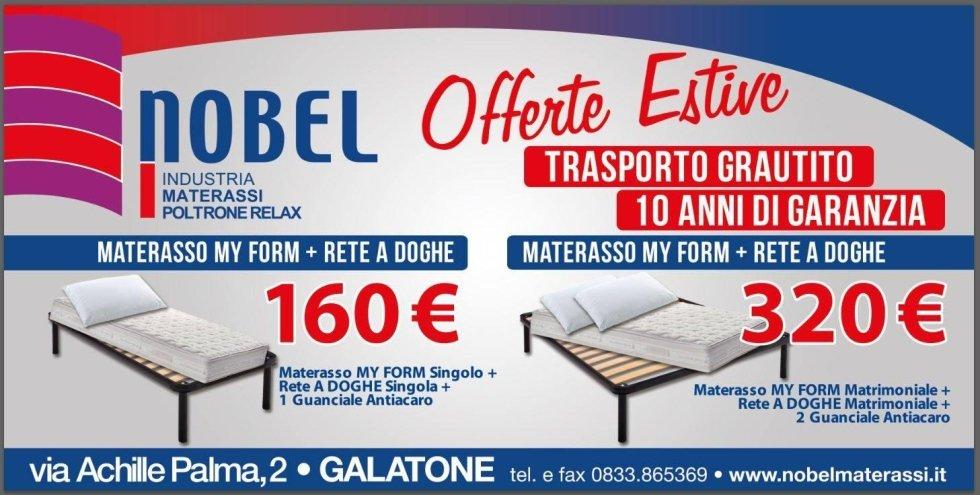 Materassi in promozione - Galatone - Lecce - Nobel Materassi