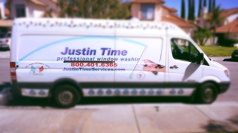Justin Time Services Van in Murrieta