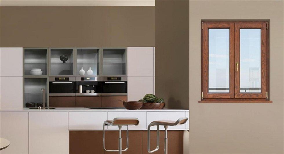 Ambientazione serramenti legno alluminio