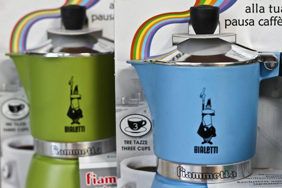 moke colorate per caffè