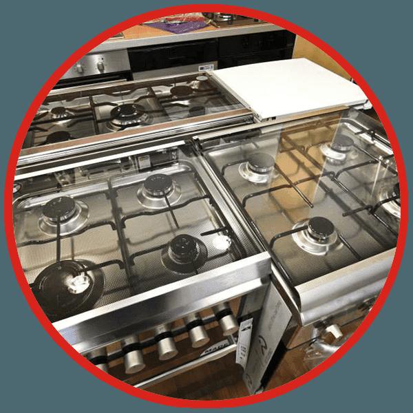 Cucine con fornelli a gas