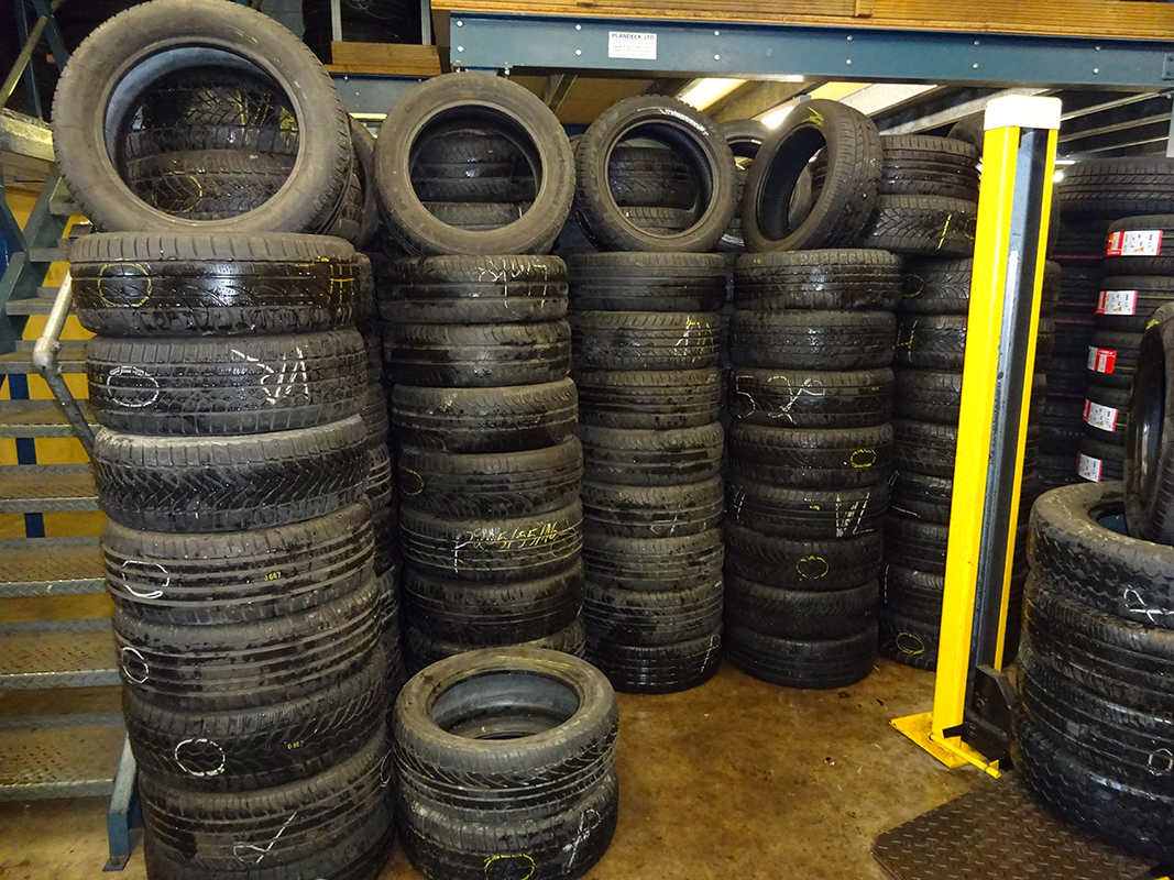 range of tyres
