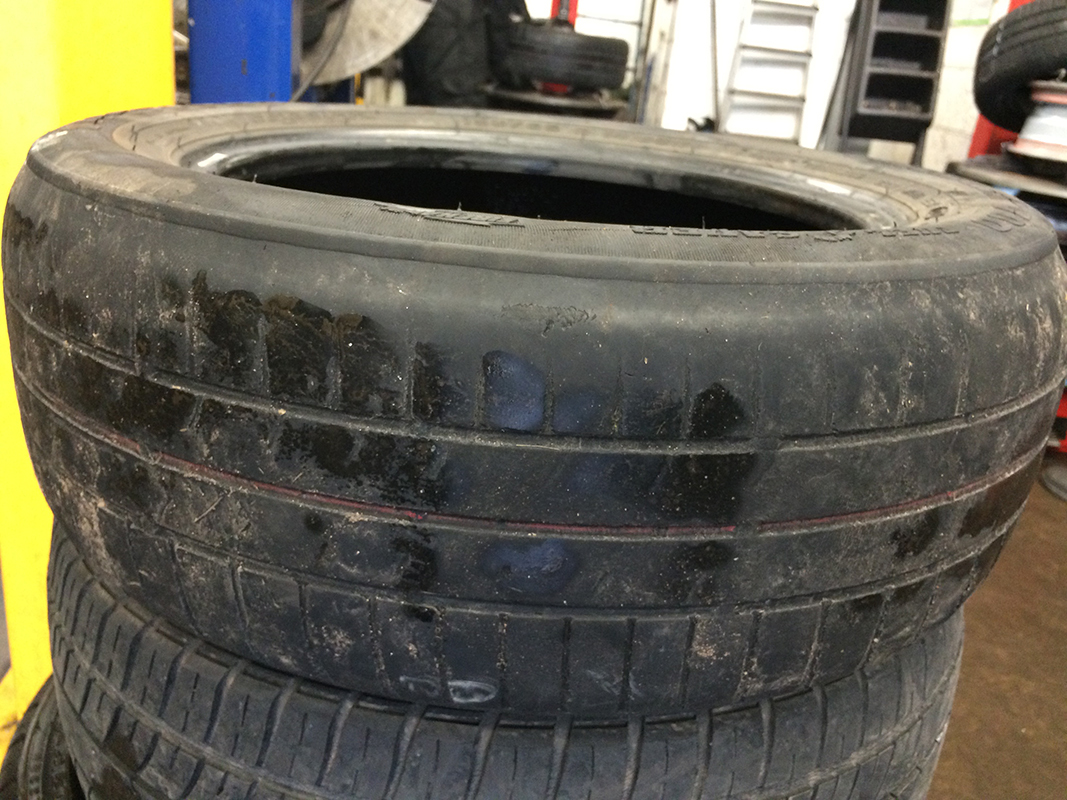 tyre tracking