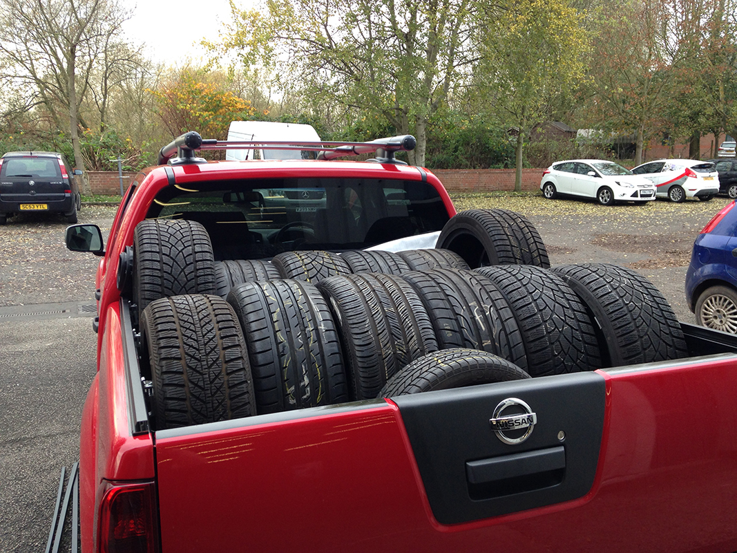 tyres for delivery