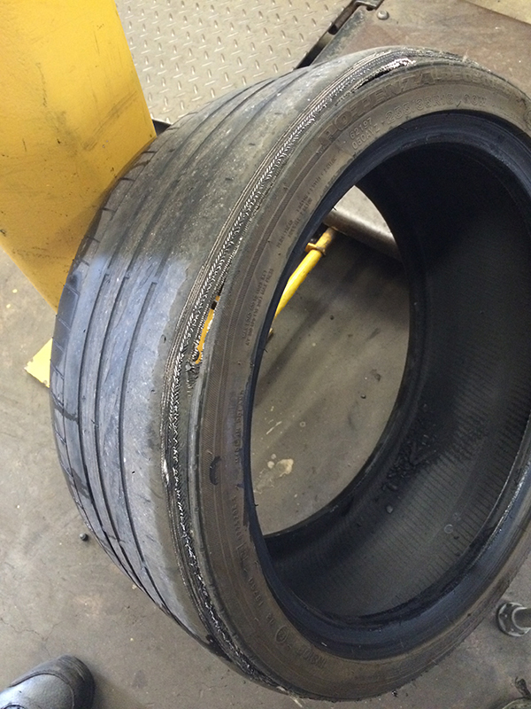 damaged tyre specialists