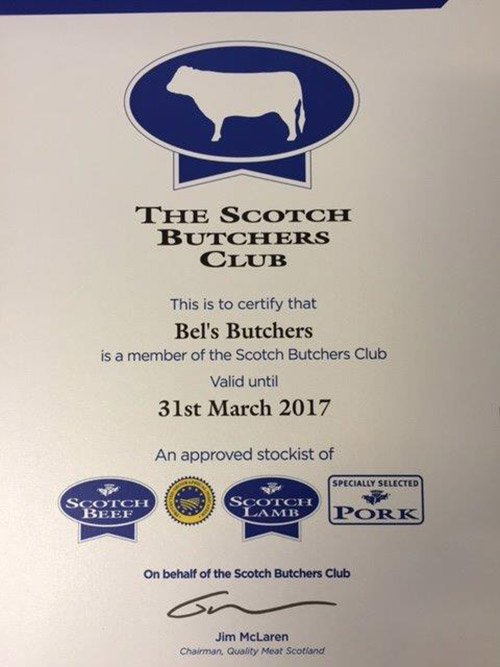 Scotch Butchers Club Membership