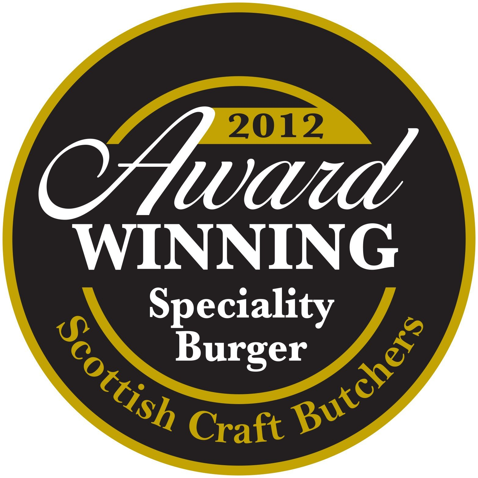 2012 award for burger