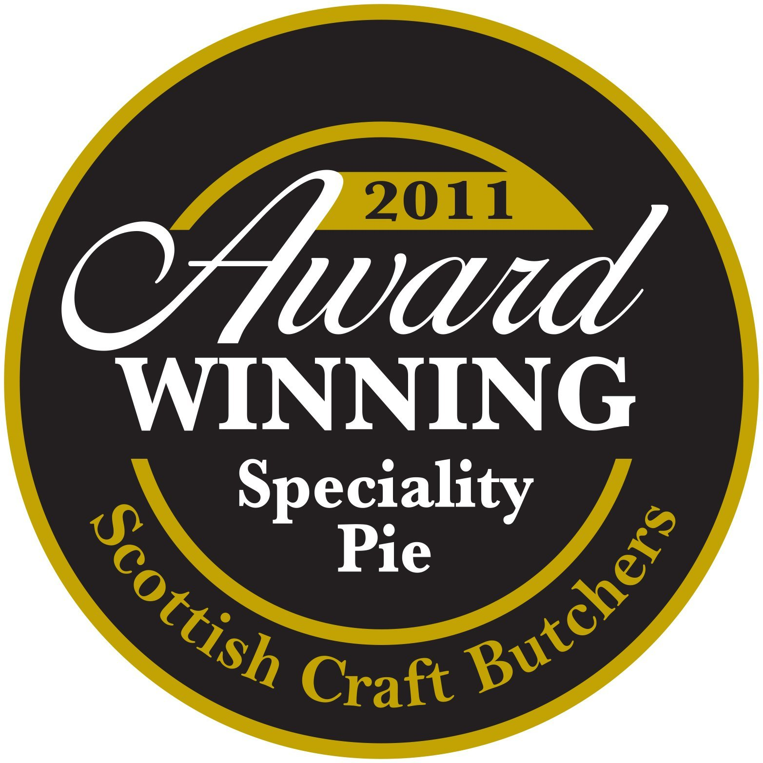 2011 award for speciality pie