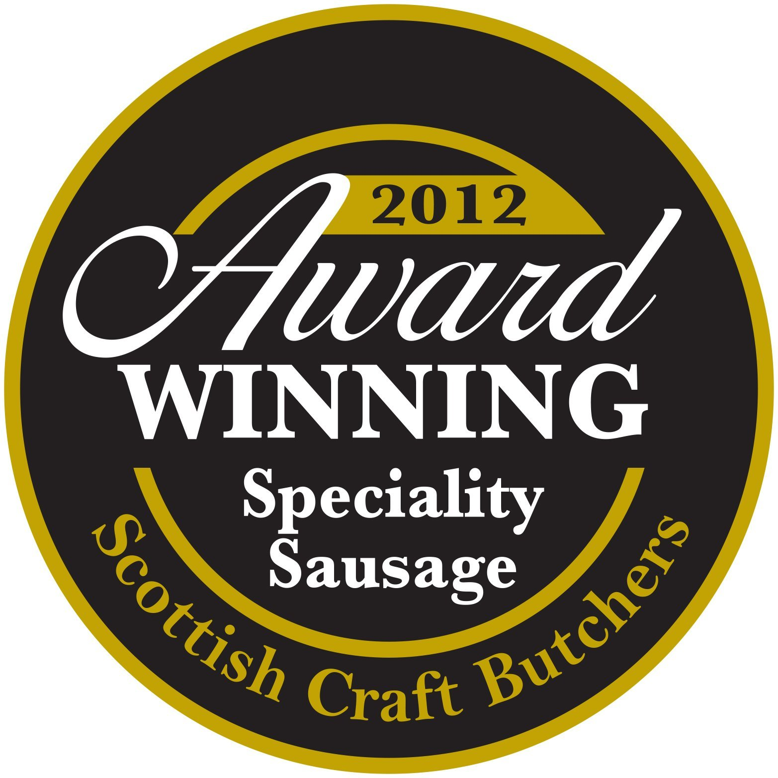 2012 award for speciality sausages
