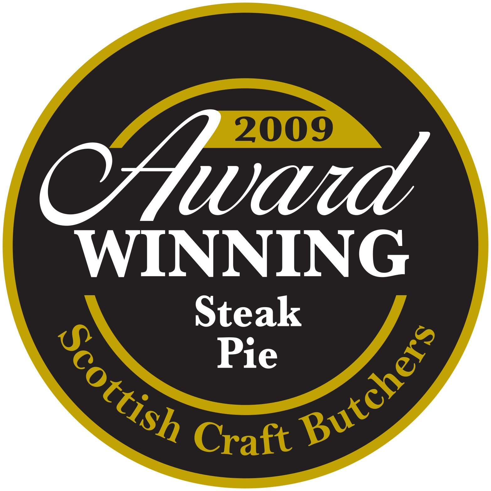 2009 award for steak pie