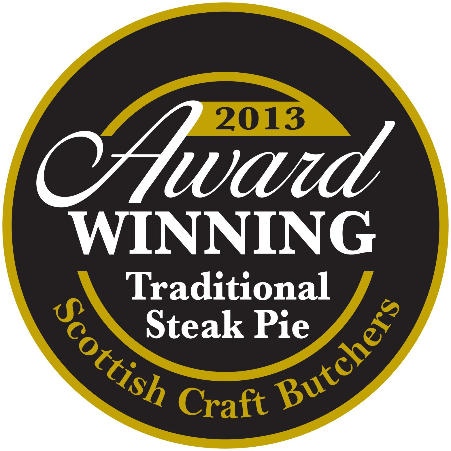 2013 award for steak pie