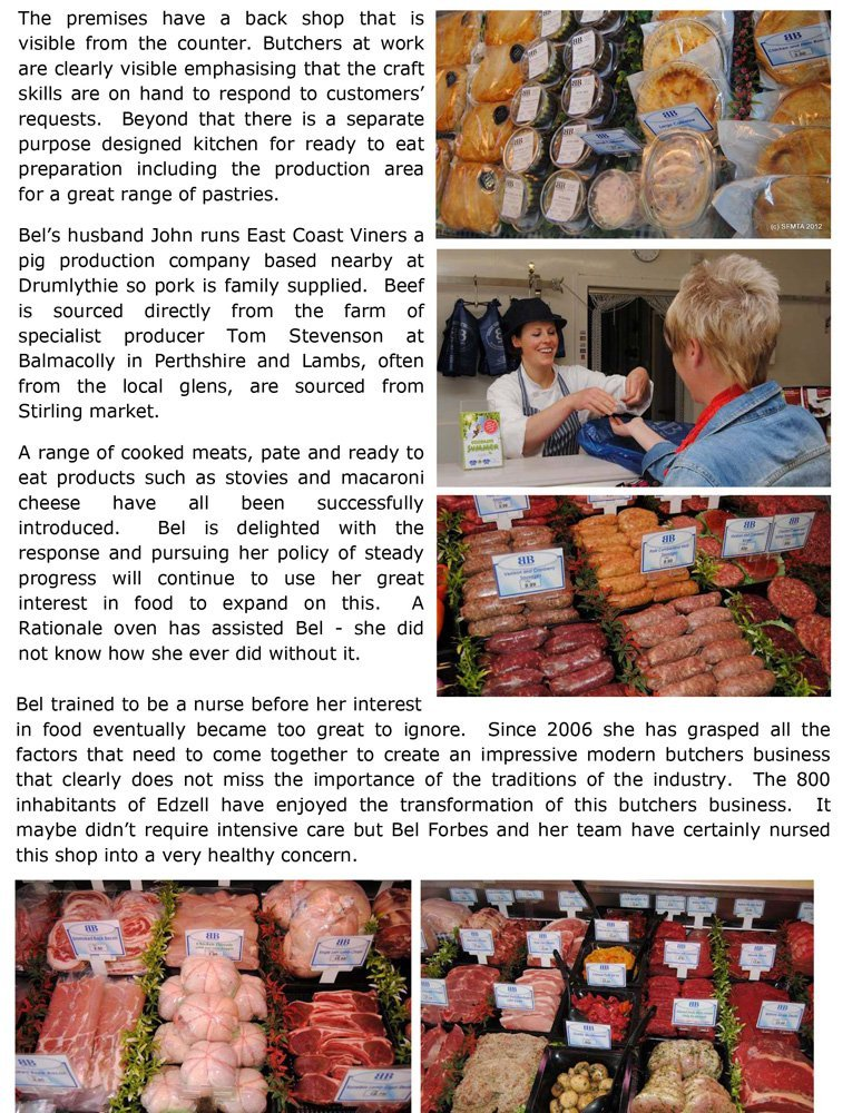 Top quality meat at Bel's butchers