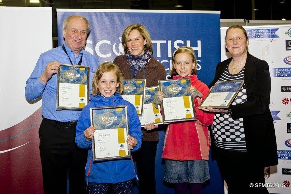 Bel's butchers professional showing the awards