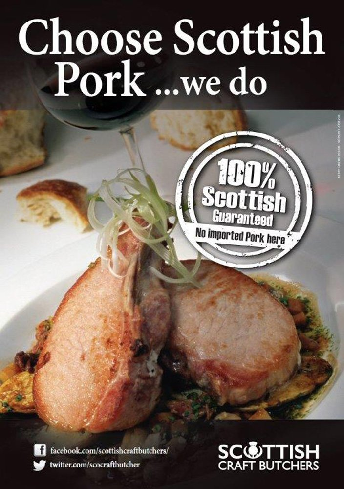 View of Scottish Pork