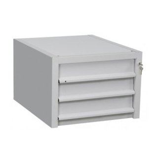 accessori cassettiera a tre cassetti