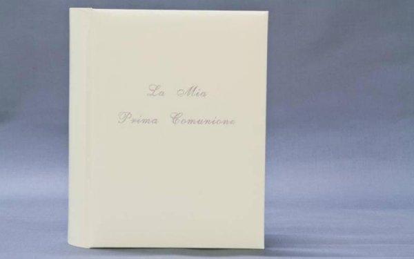 quaderno portafoto per la prima comunione