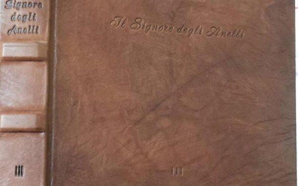copertina del libro il Signore degli anelli