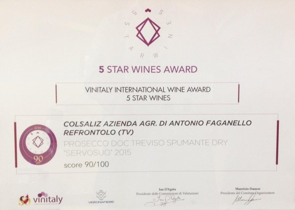 Vinitaly International Wine Award