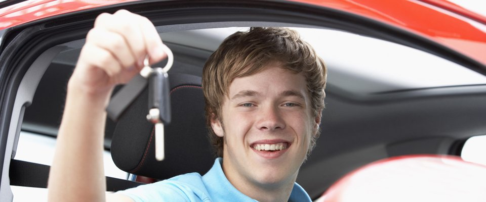 Man holding a key